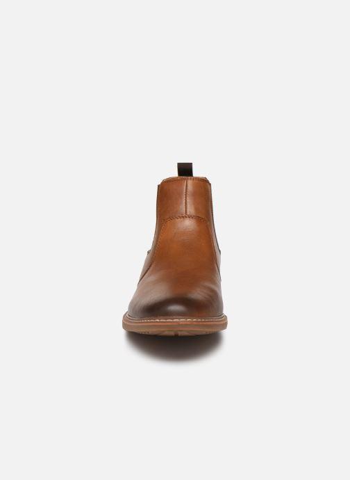 Bottines et boots Skechers Bregman Morago Marron vue portées chaussures