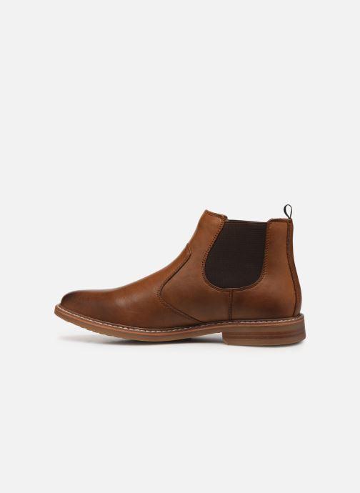 Boots en enkellaarsjes Skechers Bregman Morago Bruin voorkant