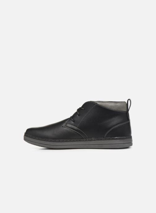 Stiefeletten & Boots Skechers Heston Regano schwarz ansicht von vorne