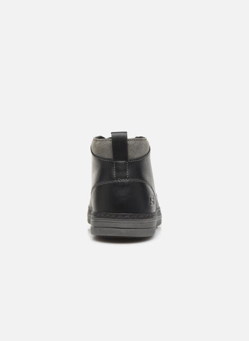 Stiefeletten & Boots Skechers Heston Regano schwarz ansicht von rechts