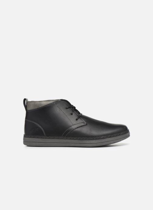 Stiefeletten & Boots Skechers Heston Regano schwarz ansicht von hinten