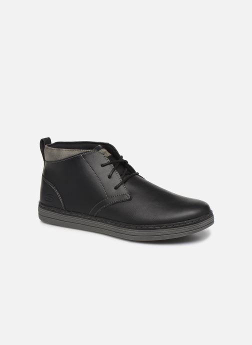 Stiefeletten & Boots Skechers Heston Regano schwarz detaillierte ansicht/modell
