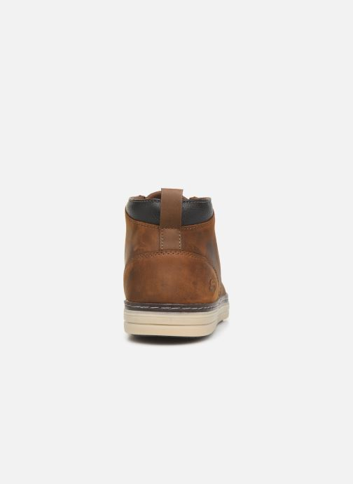 Ankle boots Skechers Heston Regano Brown view from the right