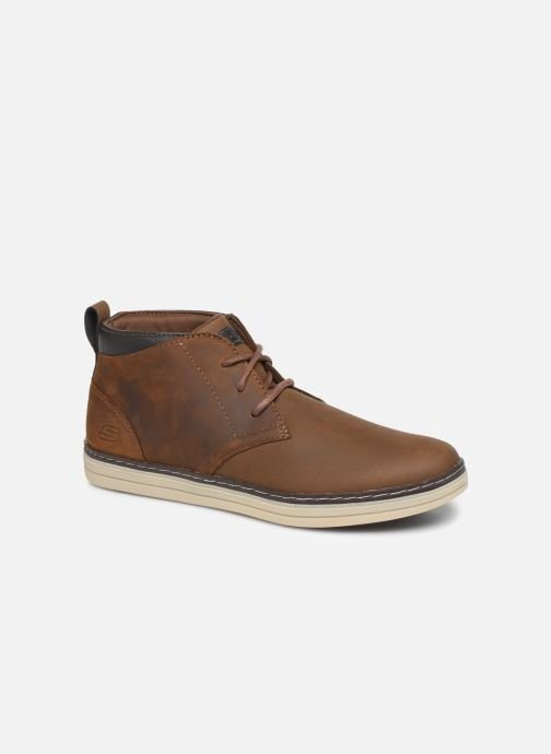 Bottines et boots Skechers Heston Regano Marron vue détail/paire