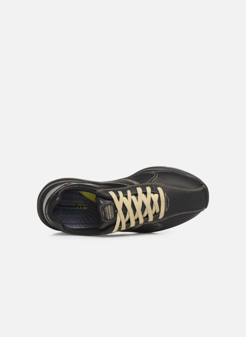Trainers Skechers Expected 2.0 Belfair Black view from the left