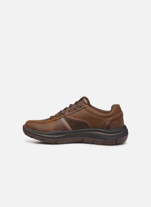 Trainers Skechers Expected 2.0 Belfair Brown front view