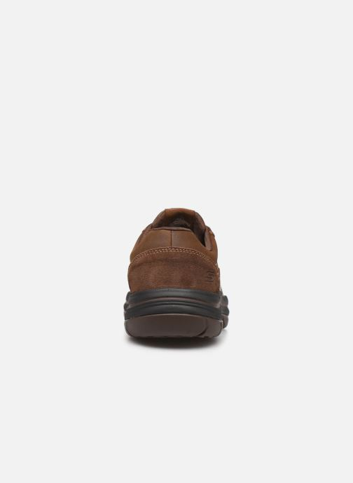 Trainers Skechers Expected 2.0 Belfair Brown view from the right