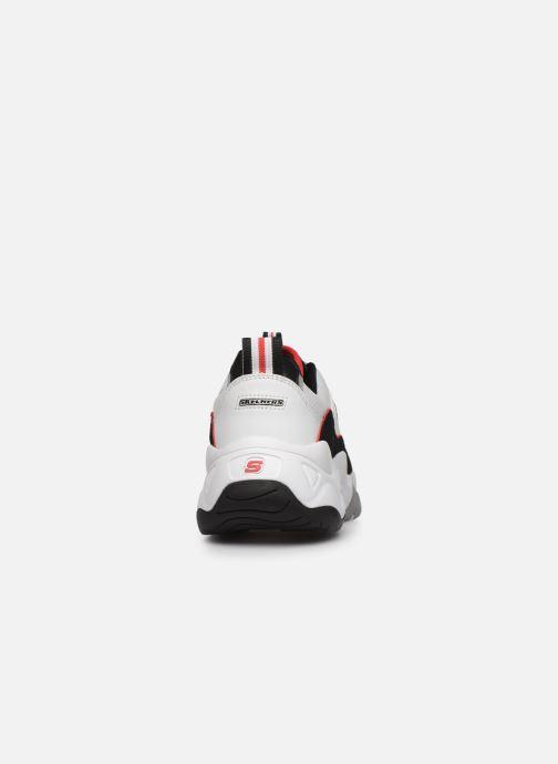 Sneakers Skechers D'Lites 3.0 Zenway Wit rechts