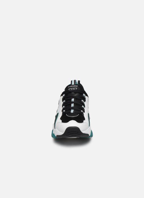 Baskets Skechers D'Lites 3.0 Zenway Multicolore vue portées chaussures