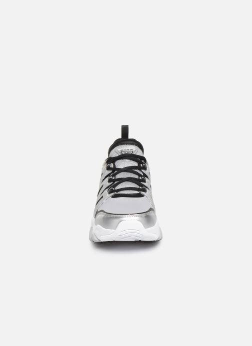 Baskets Skechers D'Lites 3.0 Intense Force Argent vue portées chaussures
