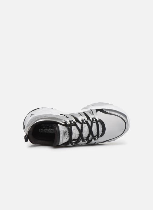 Baskets Skechers D'Lites 3.0 Intense Force Argent vue gauche