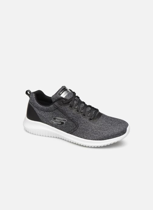 Sportssko Skechers Ultra Flex Simply Free Sort detaljeret billede af skoene