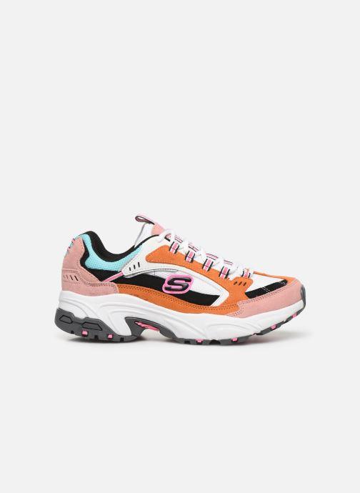 Sneakers Skechers Stamina Sugar Rocks Multicolor achterkant
