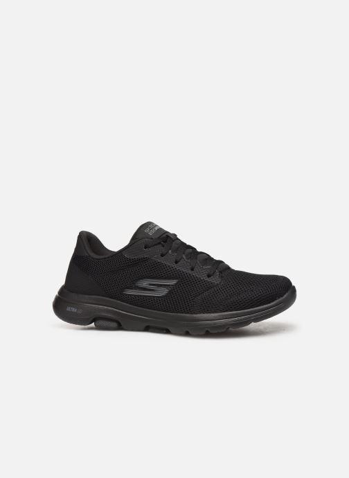 Chaussures de sport Skechers Go Walk 5 Lucky Noir vue derrière