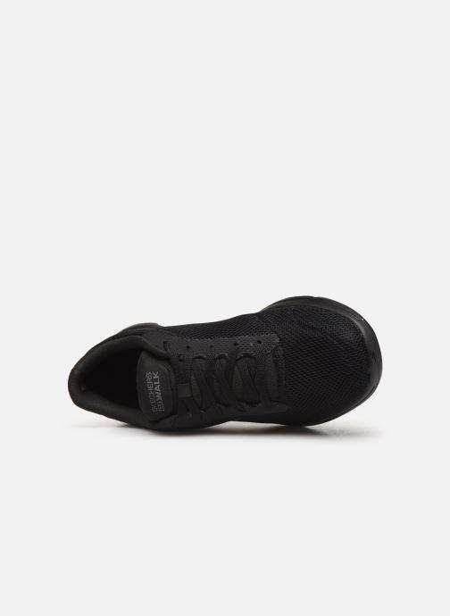 Chaussures de sport Skechers Go Walk 5 Lucky Noir vue gauche
