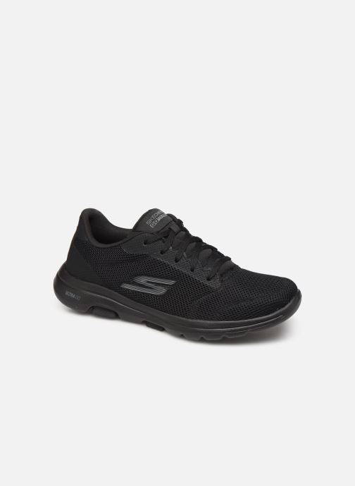 Sport shoes Skechers Go Walk 5 Lucky Black detailed view/ Pair view