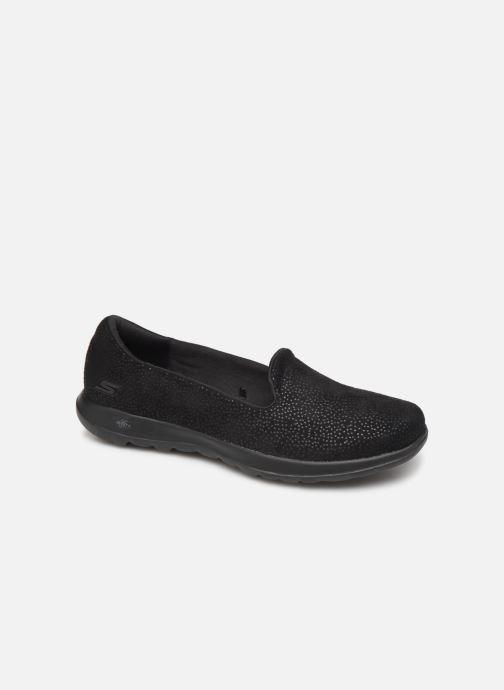 Sneakers Skechers Go Walk Lite 16389 Sort detaljeret billede af skoene