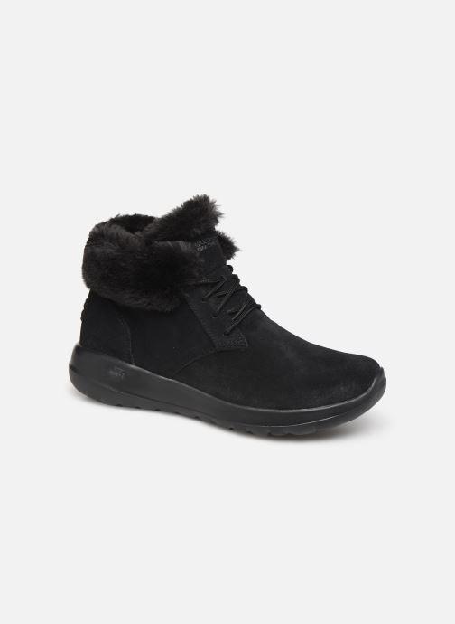 Sneakers Skechers On-The-Go Joy Lush Sort detaljeret billede af skoene