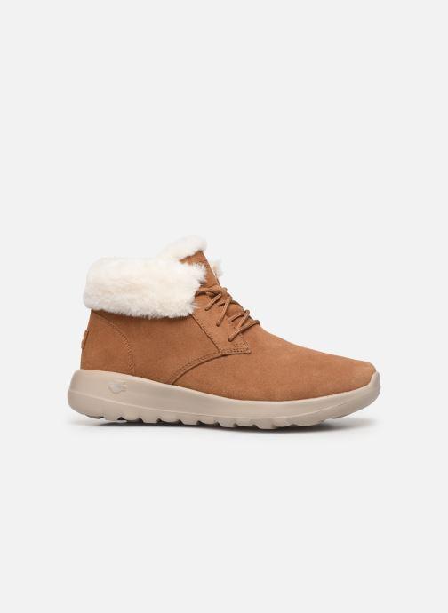 Sneakers Skechers On-The-Go Joy Lush Bruin achterkant