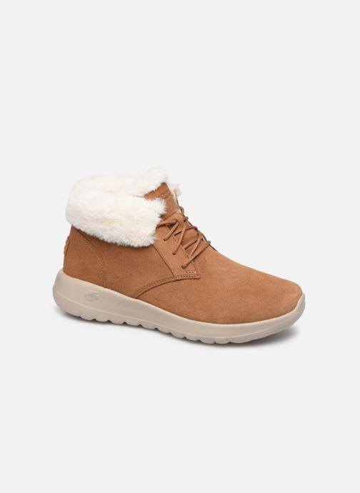 Sneakers Skechers On-The-Go Joy Lush Brun detaljeret billede af skoene