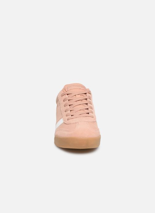 Baskets Skechers Zinger 2.0 Rose vue portées chaussures