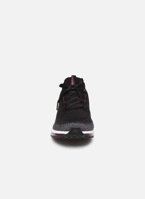Chaussures de sport Skechers Skech-Air Element W Noir vue portées chaussures