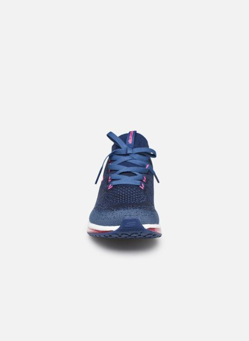 Chaussures de sport Skechers Skech-Air Element W Bleu vue portées chaussures