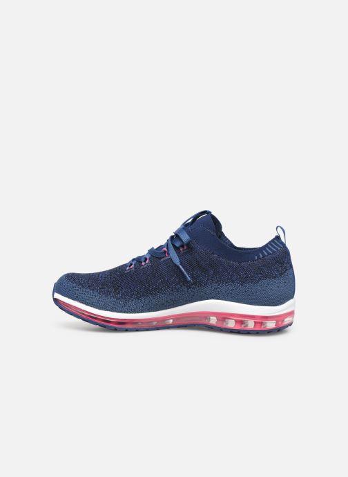 Chaussures de sport Skechers Skech-Air Element W Bleu vue face