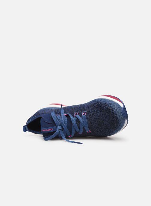 Chaussures de sport Skechers Skech-Air Element W Bleu vue gauche