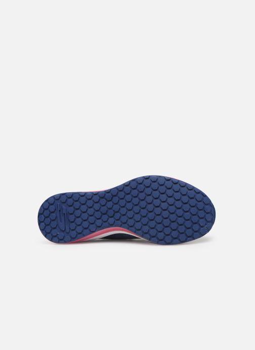 Chaussures de sport Skechers Skech-Air Element W Bleu vue haut