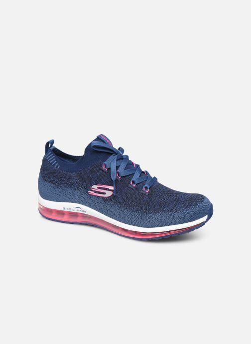 Chaussures de sport Skechers Skech-Air Element W Bleu vue détail/paire