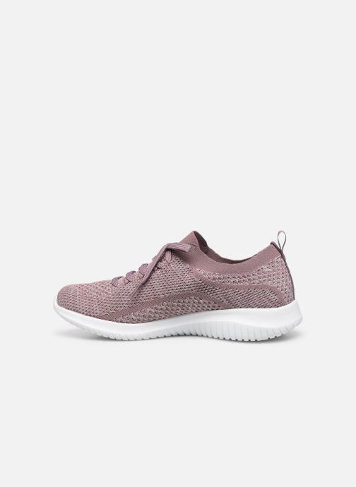 Chaussures de sport Skechers Ultra Flex Statements Violet vue face