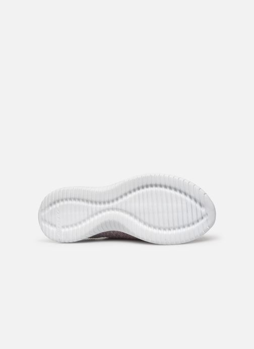 Chaussures de sport Skechers Ultra Flex Statements Violet vue haut