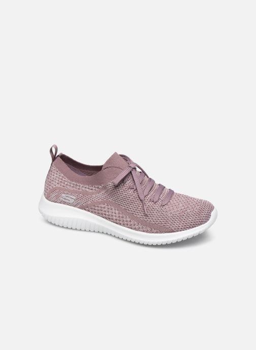 Chaussures de sport Skechers Ultra Flex Statements Violet vue détail/paire