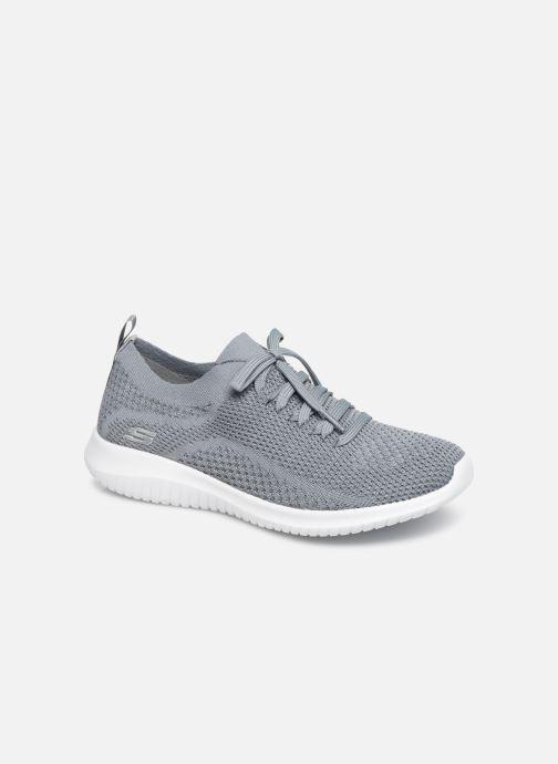 Sportssko Skechers Ultra Flex Statements Blå detaljeret billede af skoene