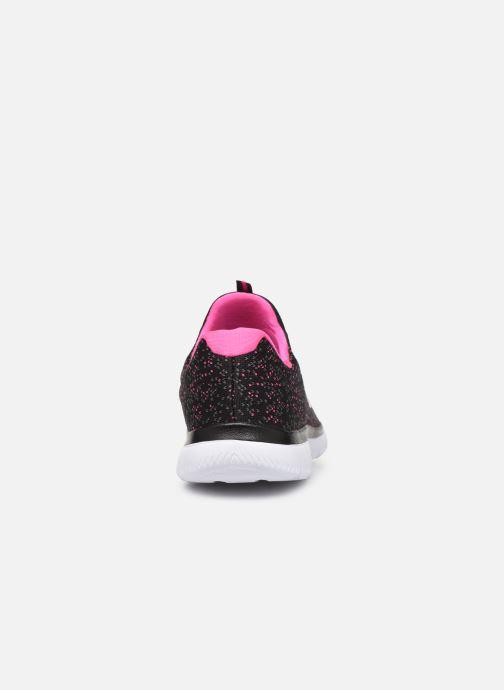Chaussures de sport Skechers Summits Lovely Sky Noir vue droite