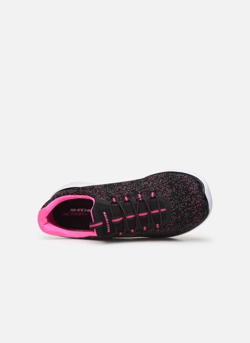 Chaussures de sport Skechers Summits Lovely Sky Noir vue gauche