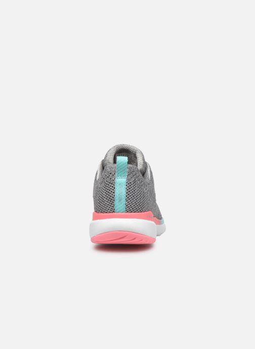 Scarpe sportive Skechers Flex Appeal 3.0 Reinfall Grigio immagine destra