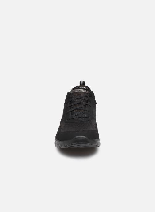 Chaussures de sport Skechers Flex Appeal 3.0 Go Forward Noir vue portées chaussures