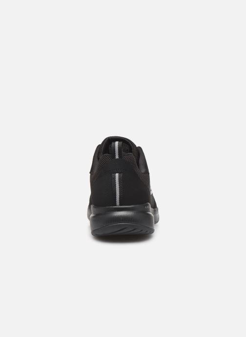 Zapatillas de deporte Skechers Flex Appeal 3.0 Go Forward Negro vista lateral derecha
