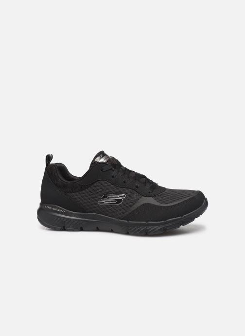 Chaussures de sport Skechers Flex Appeal 3.0 Go Forward Noir vue derrière