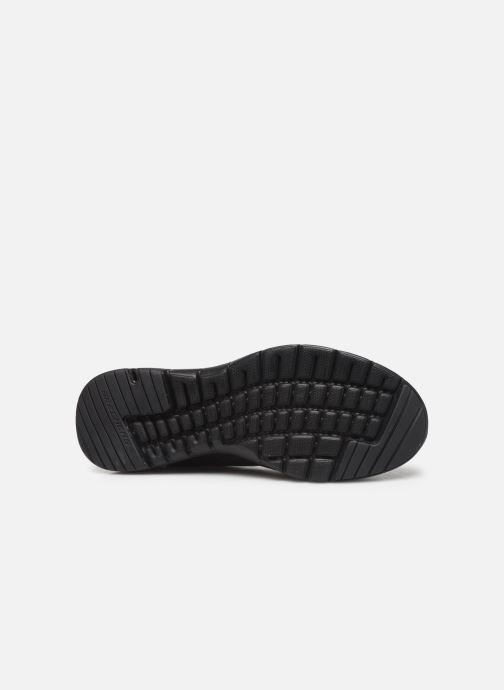 Chaussures de sport Skechers Flex Appeal 3.0 Go Forward Noir vue haut