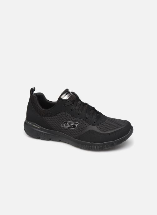 Zapatillas de deporte Skechers Flex Appeal 3.0 Go Forward Negro vista de detalle / par