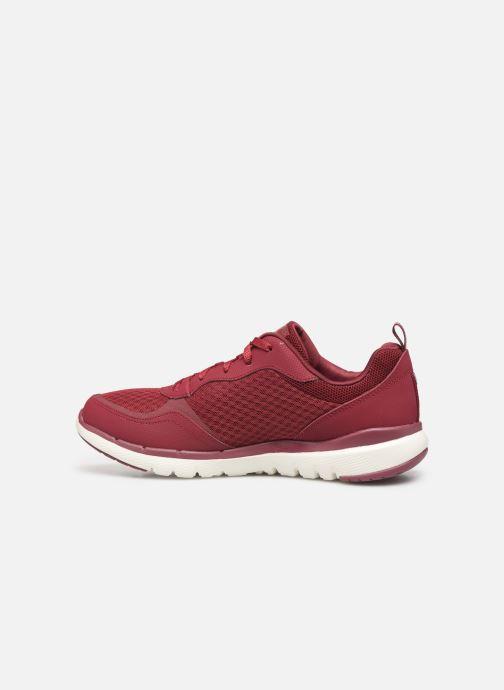 Chaussures de sport Skechers Flex Appeal 3.0 Go Forward Bordeaux vue face