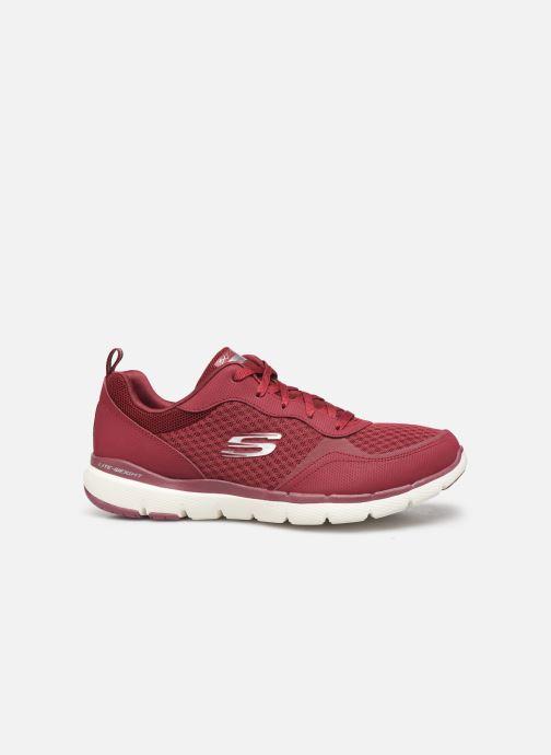 Chaussures de sport Skechers Flex Appeal 3.0 Go Forward Bordeaux vue derrière
