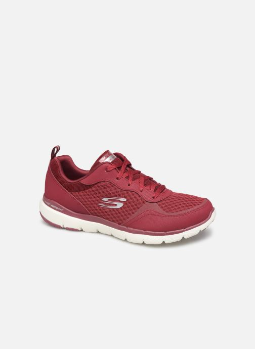 Sportschoenen Skechers Flex Appeal 3.0 Go Forward Bordeaux detail