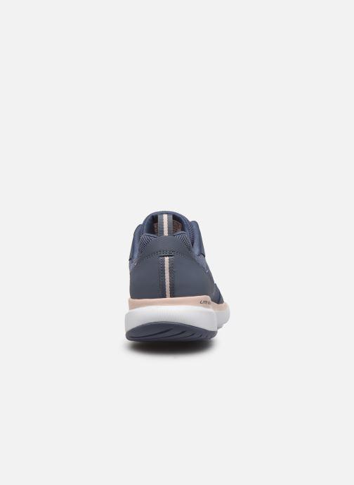 Chaussures de sport Skechers Flex Appeal 3.0 Go Forward Bleu vue droite