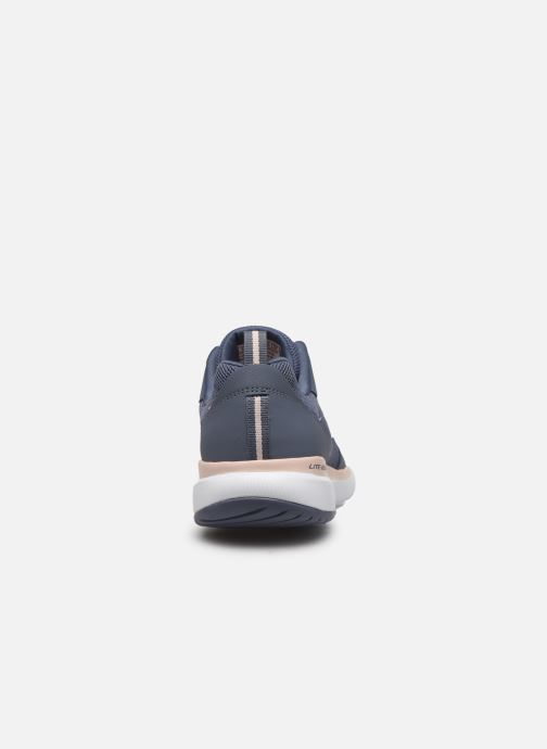Zapatillas de deporte Skechers Flex Appeal 3.0 Go Forward Azul vista lateral derecha