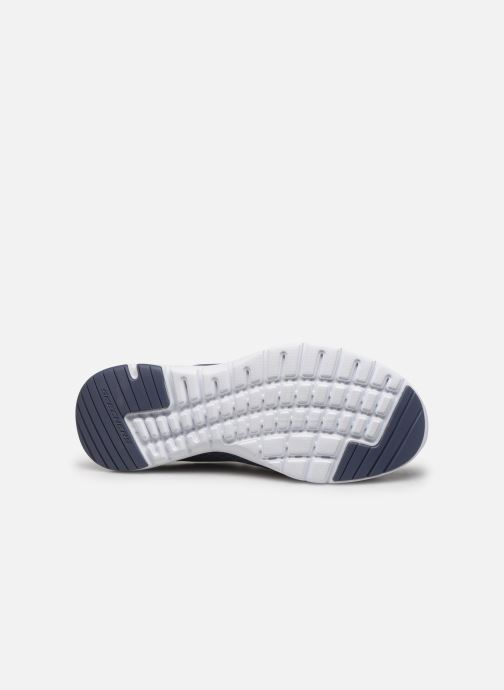 Chaussures de sport Skechers Flex Appeal 3.0 Go Forward Bleu vue haut