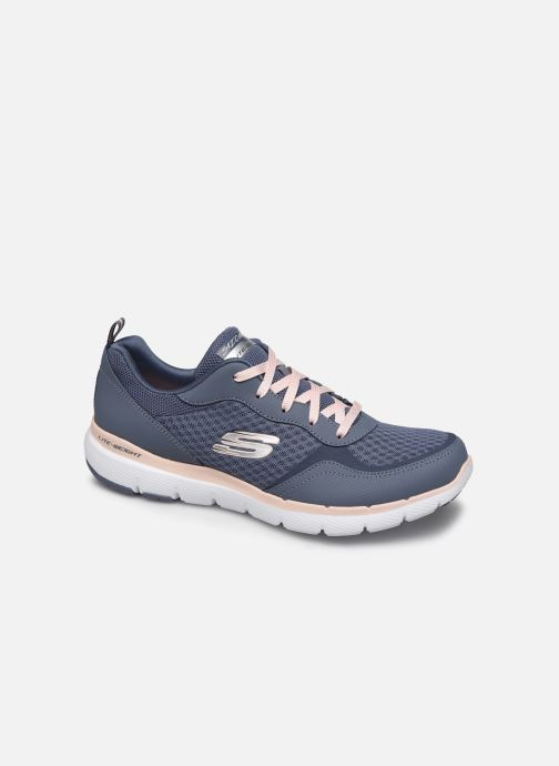 Zapatillas de deporte Skechers Flex Appeal 3.0 Go Forward Azul vista de detalle / par